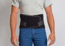 "Corfit Black LS Belt 12"" (S-M-L-XL-XXL)"