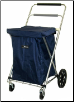 Swivel-Wheel Folding Cart (Adjustable-height handle)